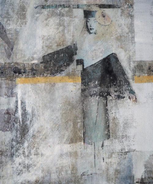 acryl auf leinwand 60 x 50 cm