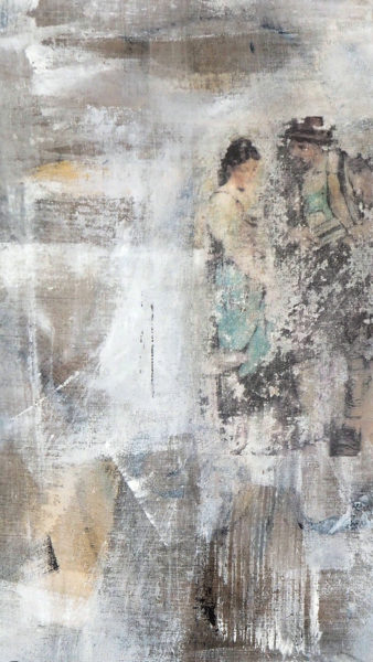 acryl auf leinwand 80 x 45 cm