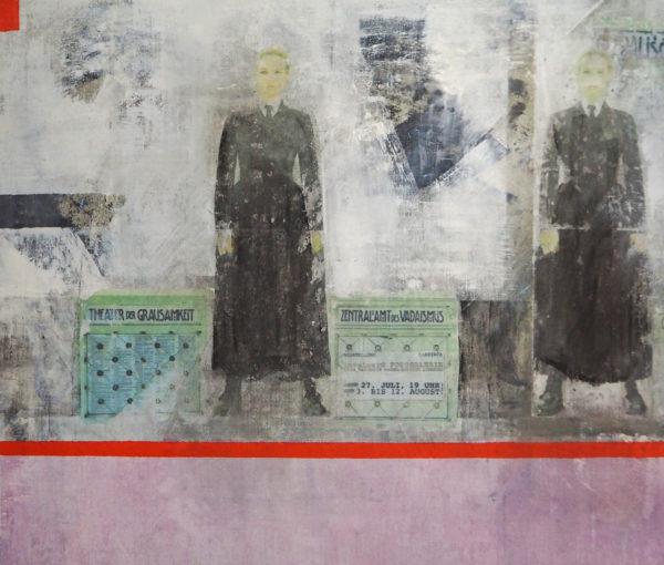 auch das ist klagenfurt - acryl auf leinwand 85 x 100 cm