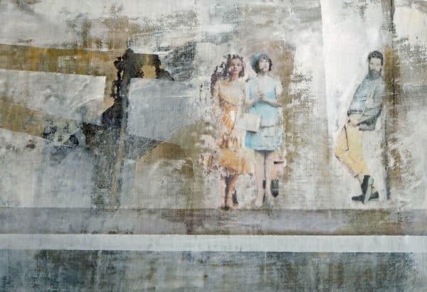 o.t. - acryl auf leinwand 50 x 85 cm